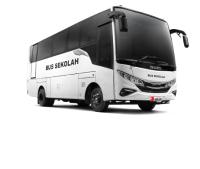 Isuzu ELF NQR Bus Pekanbaru